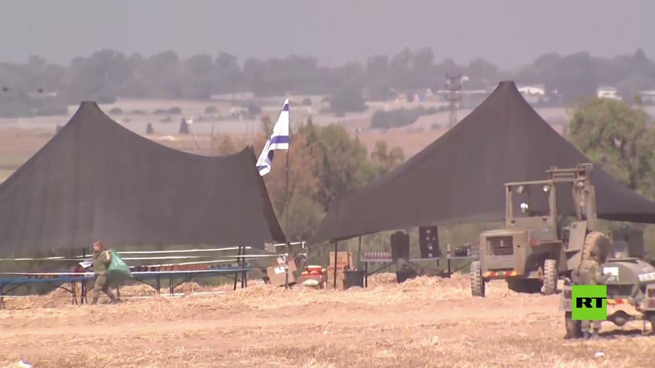 انتشار كثيف للمعدات والقوات العسكرية الإسرائيلية على حدود غزة  - نشر قبل 36 دقيقة