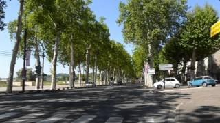 Agen Ville au bord de la Garonne