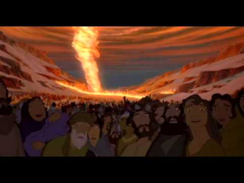 prince of egypt - when you believe - crossing red sea