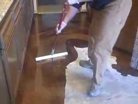 Coffee Reflector Epoxy Decorative Concrete Floor