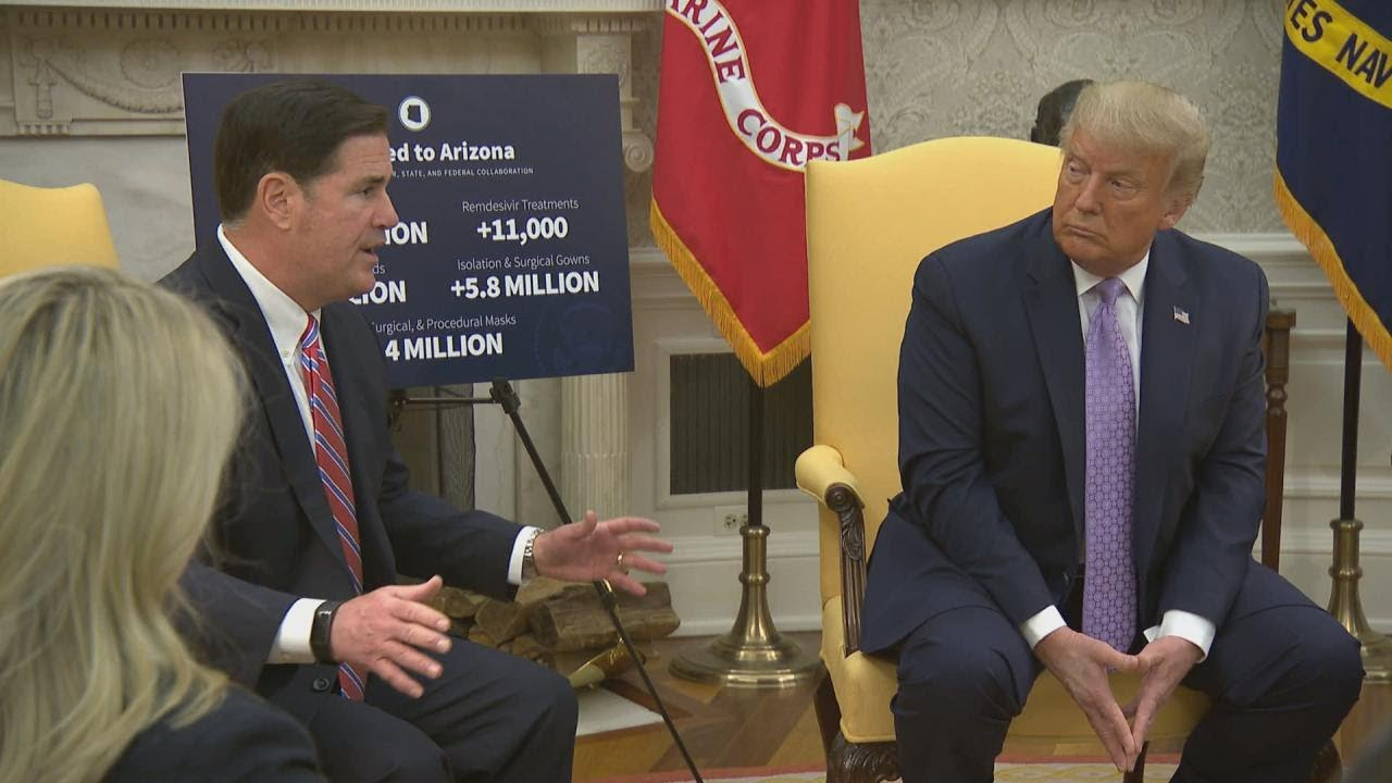 President Trump Meets with the Governor of Arizona
