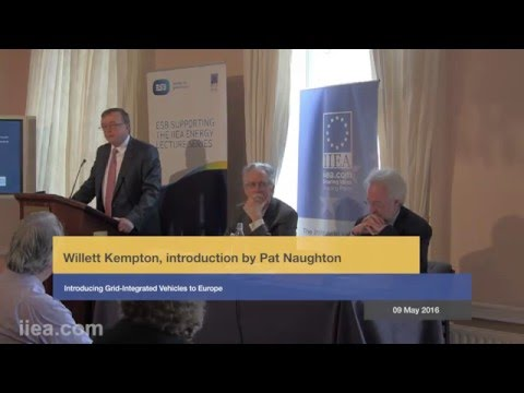 Willett Kempton - Introducing Grid-Integrated Vehicles to Europe