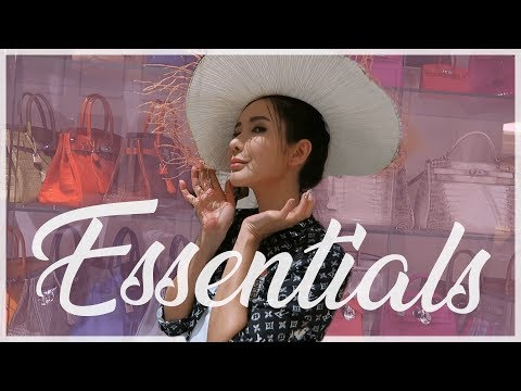 HOW I PACK - RESORT TRAVEL ESSENTIALS | JAMIE CHUA