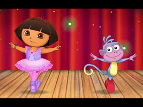 Dora the Explorer - Dora's Ballet Adventure Extended | Full Game 2014