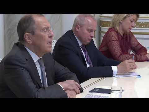 С.Лавров и Н.Пашинян, Ереван, 6 мая 2021 года