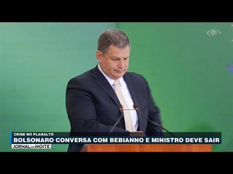 Bebianno deve ser exonerado oficialmente na próxima segunda(Vídeo)