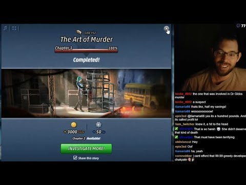 Criminal Case: The Conspiracy - Case 12 - The Art of Murder - Chapter 1