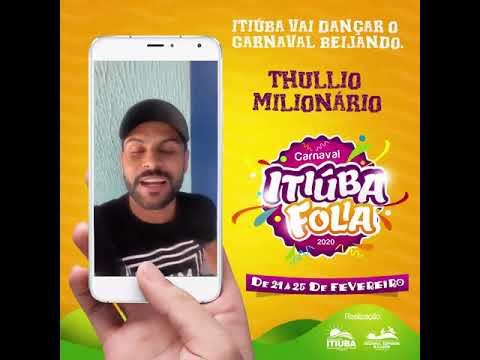ITIÚBA: CANTOR TÚLIO MILIONÁRIO MANDA RECADO PARA FÃS DE ITIÚBA