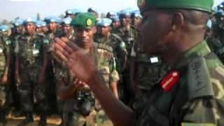 Ingabo z'u Rwanda zirishimira uko igikorwa cyo gusimbuza ingabo ziri Darfur cyagenze