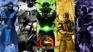 Playing MK 9 With Subs Chilling Late Night Gaming
