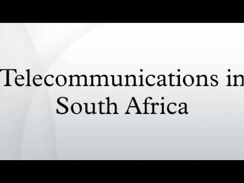 Telecommunications in South Africa