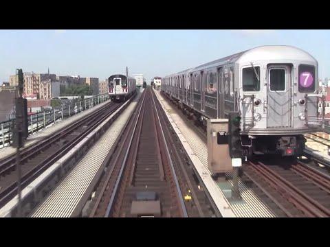 ᴴᴰ Manhattan Bound R62A 7 EXPRESS RFW Footage - Flushing Main St-Times Square