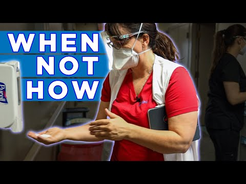 Hand Hygiene - The CMS Survey is about WHEN, NOT HOW