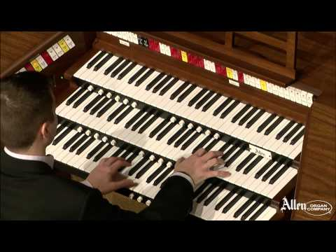 Mark Herman performs on the Allen TH300