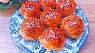 Домашние турецкие булочки, мягкие и очень вкусные! Простой рецепт. Турецкие рецепты / Sade poaça