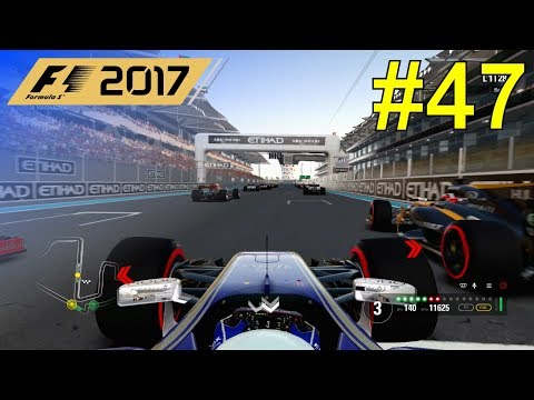 F1 2017 - Giovinazzi Career Mode #47: Abu Dhabi Grand Prix - 50% Race