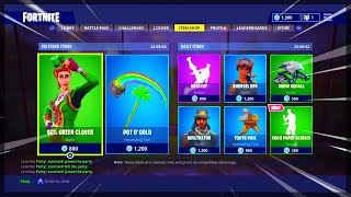 Fortnite ITEM SHOP April 9 2018! NEW Featured items and Daily items!