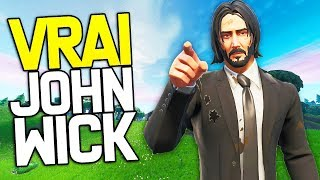 THE NEW SKIN ''JOHN WICK'' IS THE BEST SKIN ON FORTNITE!