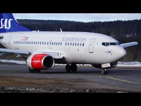 SAS B737 Economy Stockholm to Zurich / Flight Review #2 / The Way We Saw It