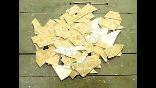 Супер идея из КОЛОТОЙ ПЛИТКИ / Смотри, что можно сделать из битой плитки!