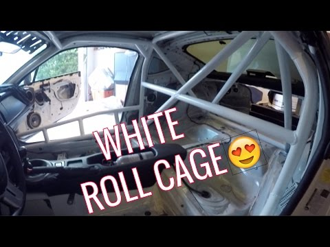 Painting my Roll Cage! | Scion FRS