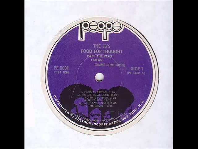 The JB\'s - Pass The Peas Chords - Chordify