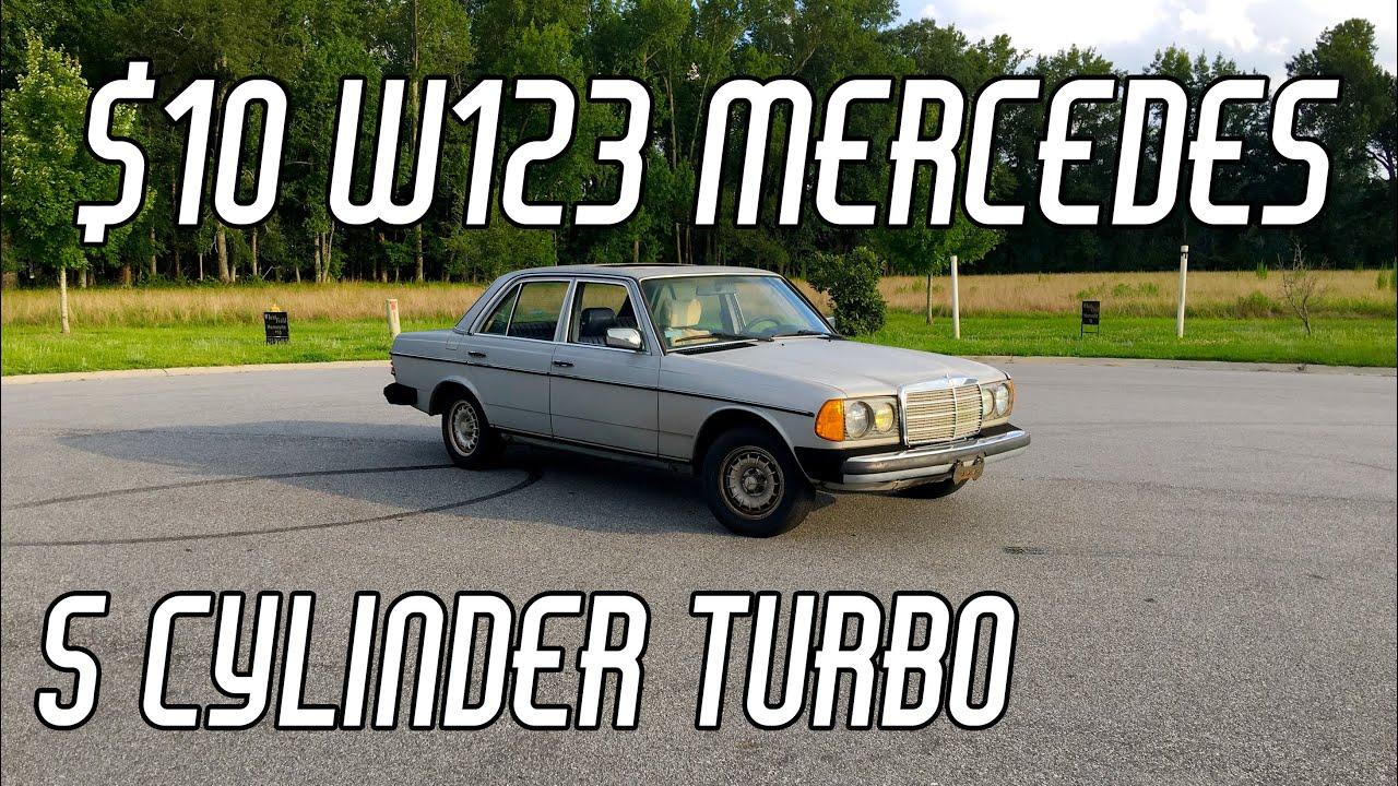 $10 W123 Mercedes: Ike's Rides Ep. 2