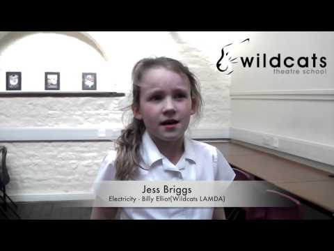 Electricity - Billy Elliot performed by Jess Briggs Wildcats LAMDA Musical Theatre
