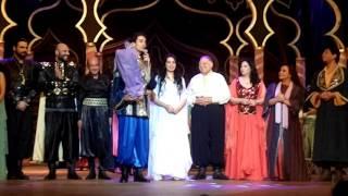 الإحتفال بزواج هبة مجدي ومحمد محسن على خشبة المسرح القومي