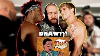 OMG!!! DRAW??? KSI VS LOGAN PAUL BOX MATCH