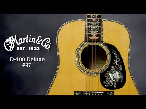 Martin D-100 Deluxe #47 Acoustic Guitar Review by Sweetwater