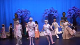 Jolly Holiday Mary Poppins CCCS High School Play 2015