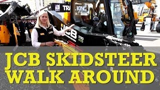 JCB updates skid steer and compact loader range