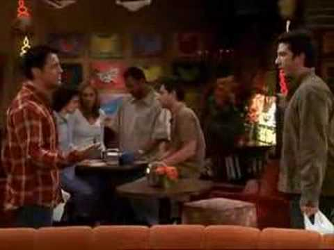 Vote No on   Friends The fight of Ross and Joey      ROSS VS JOEY