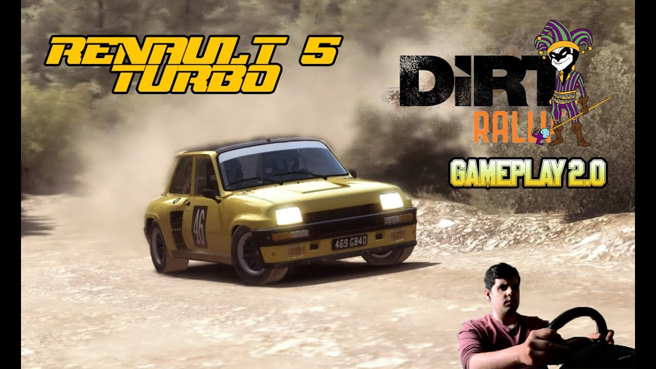 gameplay 2 0 renault 5 turbo thrustmaster t80 dirt. Black Bedroom Furniture Sets. Home Design Ideas