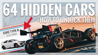 Forza Horizon 4 | 64 Hidden Cars & How To Unlock Them (Wheelspin/Forzathon +All Barnfind Locations)