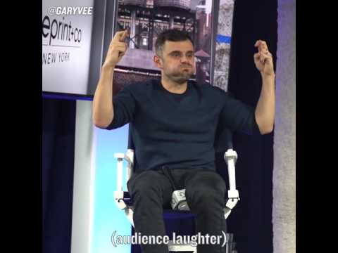 This guy Gary Vaynerchuk is a savage lol, tells it like it is.