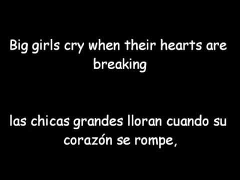 Sia - Big girls Cry - Letra y Traducida
