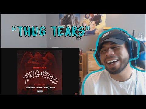 "Mistah F.A.B. ""Thug Tears"" Feat. Rick Ross, Philthy Rich & Mozzy | REACTION"