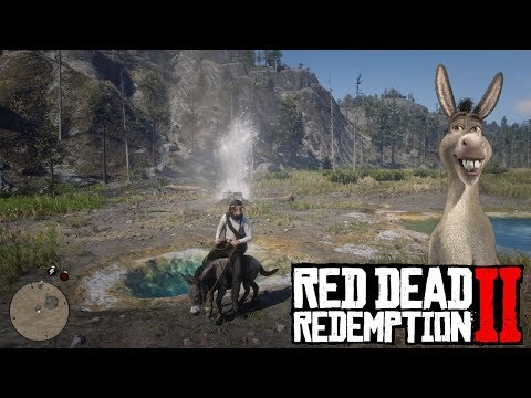 HOW TO OWN A DONKEY | RED DEAD REDEMPTION 2
