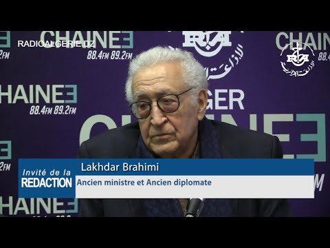 Lakhdar Brahimi Ancien ministre et Ancien diplomat