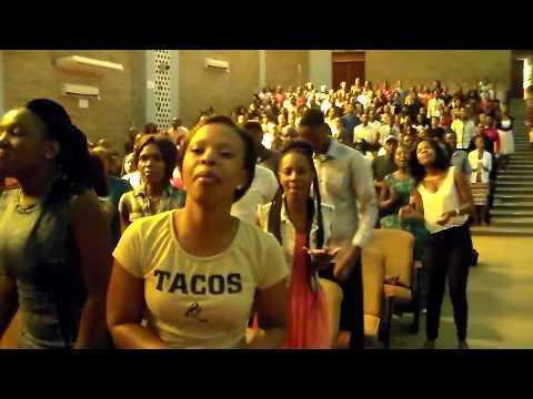 Praise at Tiro hall (University of Limpopo) 2017