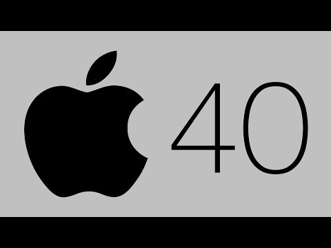 The History of Apple (40th Anniversary)