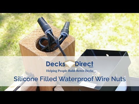 Weather Proof Wire Nuts - YouTube