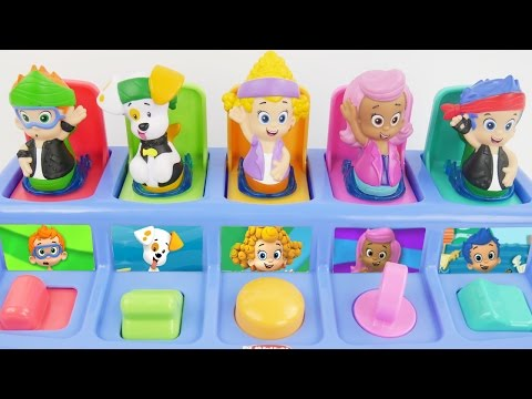 Bubble guppies pop up toys