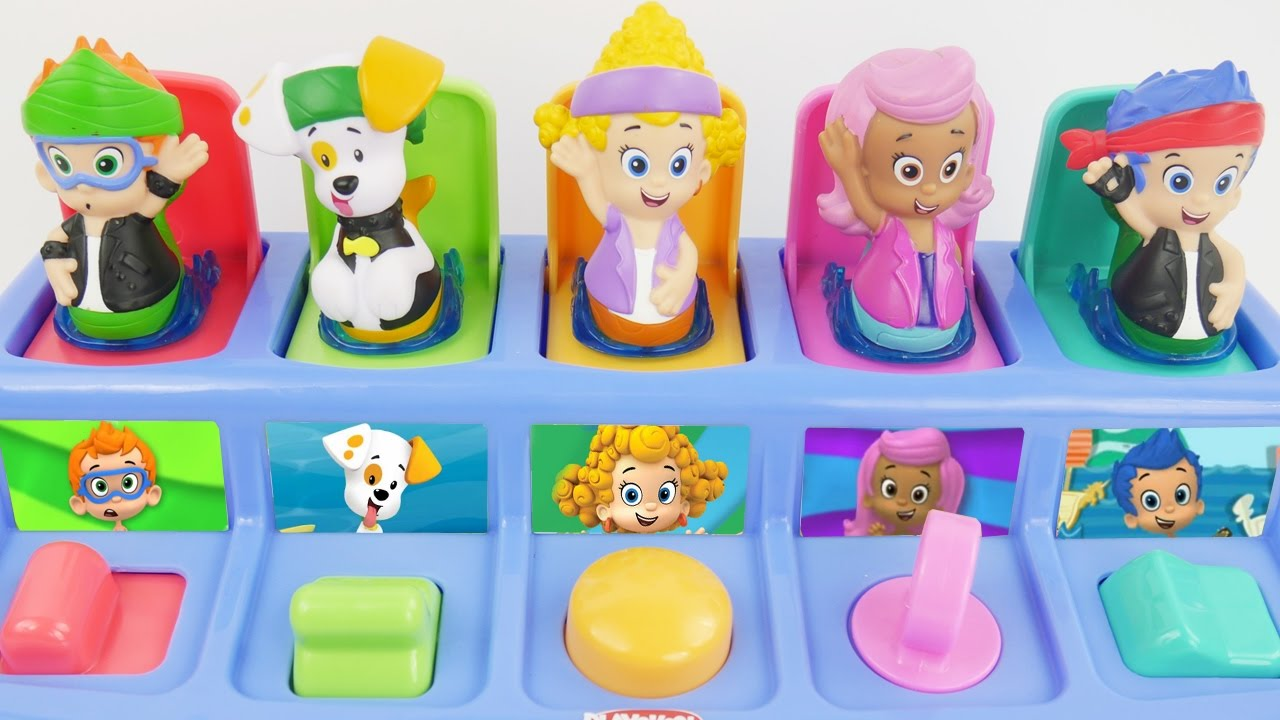 sc 1 st  YouTube & Bubble guppies pop up toys - YouTube