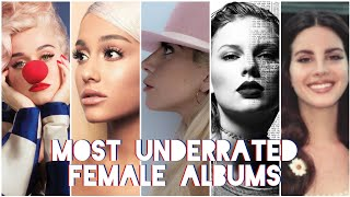 Top 50 - Most Underrated Female Albums