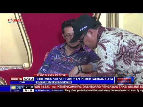 Pemutakhiran Data Daftar Pemilih, KTP Gubernur Sulsel Diperiksa KPU