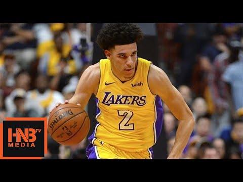 Los Angeles Lakers vs LA Clippers 1st Half Highlights / Week 1 / 2017 NBA Season