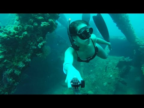 Welcome to our world: wreck diving without air